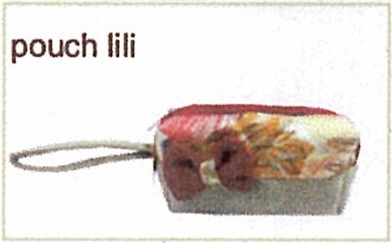 tas kain goni - pouch lili