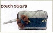 tas kain goni - pouch sakura